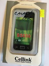 Samsung Galaxy Ace S5830 Silicon Case in White SCC6428WH. Brand New in packaging
