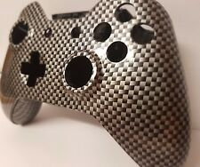 Xbox One Controller Shell Hydro Dipped Housing Mod Button Kit Carbon Fiber - UK