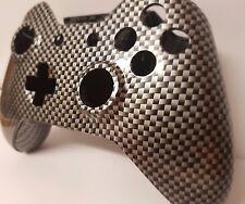 Xbox One Controller Shell Hydro sumergido vivienda Mod Botón Kit De Fibra De Carbono-Reino Unido