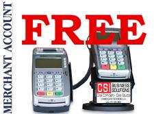 FREE EMV/NFC VX520 FREE Merchant Account setup 1000 FREE Business Cards