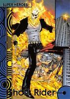 GHOST RIDER / 2013 Marvel Fleer Retro (Upper Deck) BASE Trading Card #14