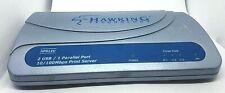 Hawking Technology HPS12U 2 USB and 1 Parallel Port Print Server
