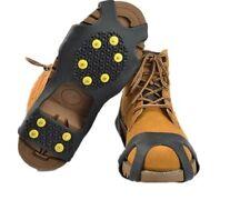 1 Paar Schuh Spikes 10 Spikes Schuhspikes Eiskrallen mit Gr. 31-48 TOP