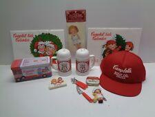 "Mm! Mm! Good!"" Campbells Soup Hat Magnets Tin Shakers 1982 83 Calendars Clip +"