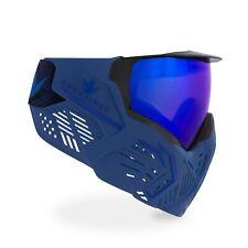 Bunkerkings Cmd Paintball Goggle / Mask - Blue Azure
