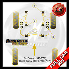 Fiat Brava (95-01) Powerflex Black Complete Bush Kit
