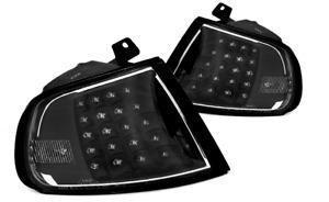 JDM BLACK LED CORNER INDICATOR TURN SIGNAL LIGHTS FOR HONDA CIVIC EG 3D 92-95