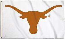 Texas Longhorns 3' x 5' Flag (Logo Only on White) NCAA Licensed