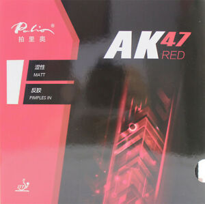 Palio AK47 RED Cake Tension Sponge 40+/ Table Tennis rubber Ping Pong Rubber