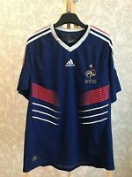 France national team 2009/2010/2011 Home Sz L jersey adidas shirt soccer maillot
