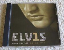 ELVIS PRESLEY Elvis 30 #1 Hits MUSIC SAMPLER 3-Track CD Single PROMO