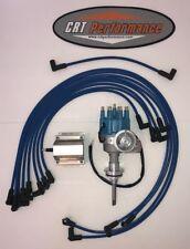 BB Mopar HEI Distributor BLUE Chrysler Kit Dodge 413 426 440 + 60K COIL + WIRES