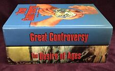 Ellen G White Duo: The Desire of Ages ~ The Great Controversy Large Adventist HB