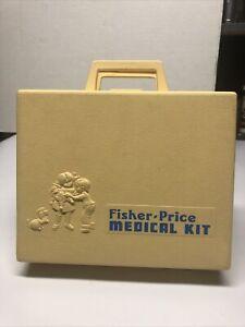 1977 Fischer Price Vintage Medical Kit Missing One Instrument! Lot D