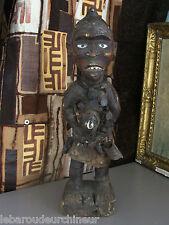 statue africaine. african statue Congo fétiche