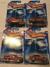 2009 Hot Wheels  Exclusive K-Mart Mail-In Set Of Four Cars