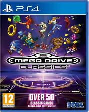SEGA Mega Drive Classics Playstation 4 PS4 NEW SEALED Free UK p&p UK SELLER
