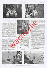L'illustration n°4459 - 18/08/1928 Libye british legion scaphandrier Reynière JO