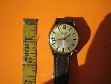 Vintage Corvette 17 Jewel Incabloc Swiss Made Wristwatch