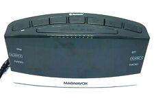New listing Magnavox MR41806BT Dual Alarm Digital Clock Radio w Instructions EUC