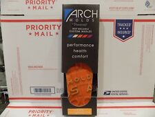 Arch Molds Lean - Thin Custom Insoles size: K MENS SIZE 13-13.5 FREE SHIP