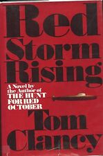 Tom Clancy signed  Red Storm Rising -  1st. Ed. 5th Print. 1986 VG+