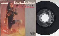 DEE D. JACKSON disco 45 STAMPA ITALIANA Fireball + Falling into space 1979 ITALY