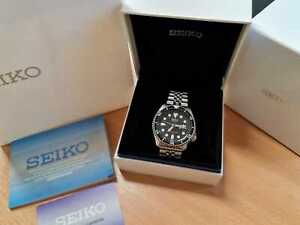 Seiko SKX007 K, boxed + papers divers watch EXCELLENT condition, fully tested