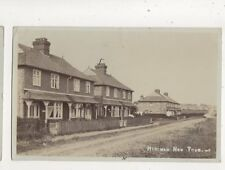 Hitcham New Town Buckinghamshire 1907 RP Postcard Bill 583b