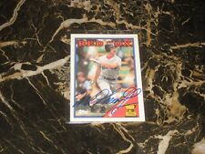 1988 TOPPS ALL-STAR ROOKIE/AUTO CARD FROM MIKE GREENWELL #493 NM-MT