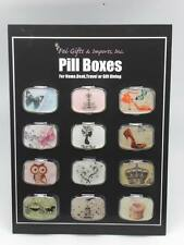 Home ::  Pill Boxes ::  Pill Boxes - Set of 12