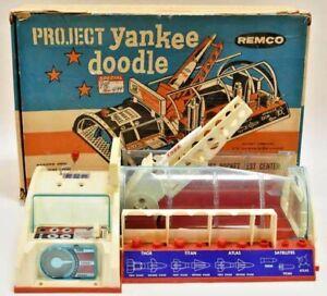 Vintage 1959 Remco Project Yankee Doodle Rocket Launcher Play Set Original Box