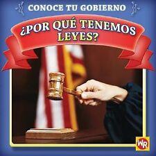 Por que tenemos leyes?  Why Do We Have Laws? (Conoce Tu Gubierno  Know Your Gove