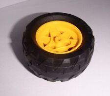 Lego (41896c02) Reifen 68.8x36 H mit Felge in gelb aus 7344