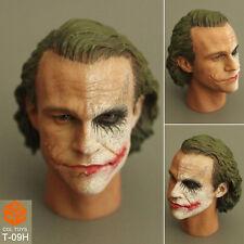 CGL TOYS T-09 1/6 joker Half a make-up Headplay Clown head Batman's Nemesis