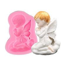 3D Angel Baby Silicone Fondant Mold Cake Decorating Sugarcraft Baking Mould Tool