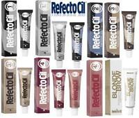 RefectoCil Professional Intensive Eyelash , Eyebrow Dye Tint Lash Kit Tinting