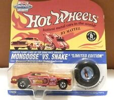 "1995 Hot Wheels Mongoose VS Snake Red Tom ""Mongoose"" McEwen"