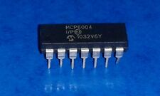 MCP6004-I/P Quad Operational Amplifier DIP-14 MICROCHIP IC (NOS) Id16858P46