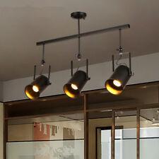 Flush Mount Ceiling Lights Home Lamp Black Chandelier Lighting Bar Pendant Light