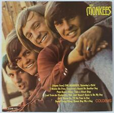 "THE MONKEES Signed Autograph ""The Monkees S/T"" LP by 4 Davy Jones, Peter Tork"