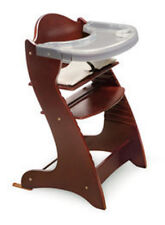 Badger Basket Embassy Adjustable Wood High Chair in Cherry 00934  New