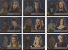 """Lord of the Rings Evolution - """"Evolution B"""" Set of 12 Chase Cards 1-12B"""