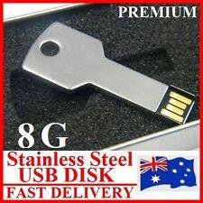 Premium 8G Key Shape USB2.0 Flash Disc Drive Superfast Read/Write Water-proof