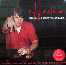 Fabrizio De André - Effedia 4 LP Box Set + DVD