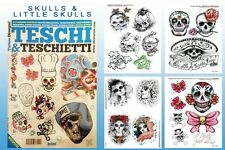 SKULLS & LITTLE SKULLS Design Tattoo Flash Book 66-pages