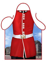 MEN'S FUN NOVELTY APRON, CHANGING OF THE GUARD, QUEEN'S GUARD, GIFT FROM LONDON