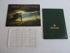 Rolex Submariner Booklet Set 3 Teilig  - englisch von 1-2007