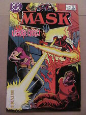 MASK #4 DC Comics 1987 Series Based on TV Show & Toy Line