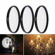 4 IN 1 37 43 52 55 58 67 72 77 82mm 4PT 6PT 8PT Set Star Lens Filter For Camera
